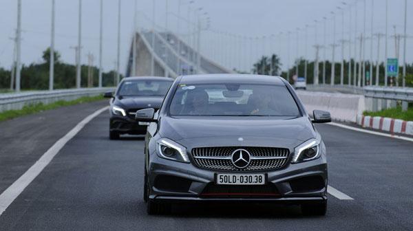 Cùng vi vu trên các dòng xe Mercedes chất lượng cao