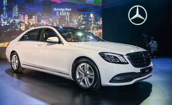 Các dòng xe Mercedes đời mới luôn được nhập về ở Công ty Nam Khôi